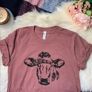 Tops - [Gypsy Cow] Super Soft Tee
